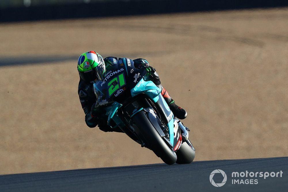 "Morbidelli fears ""nightmare"" race as Yamaha ""useless"" in pack"