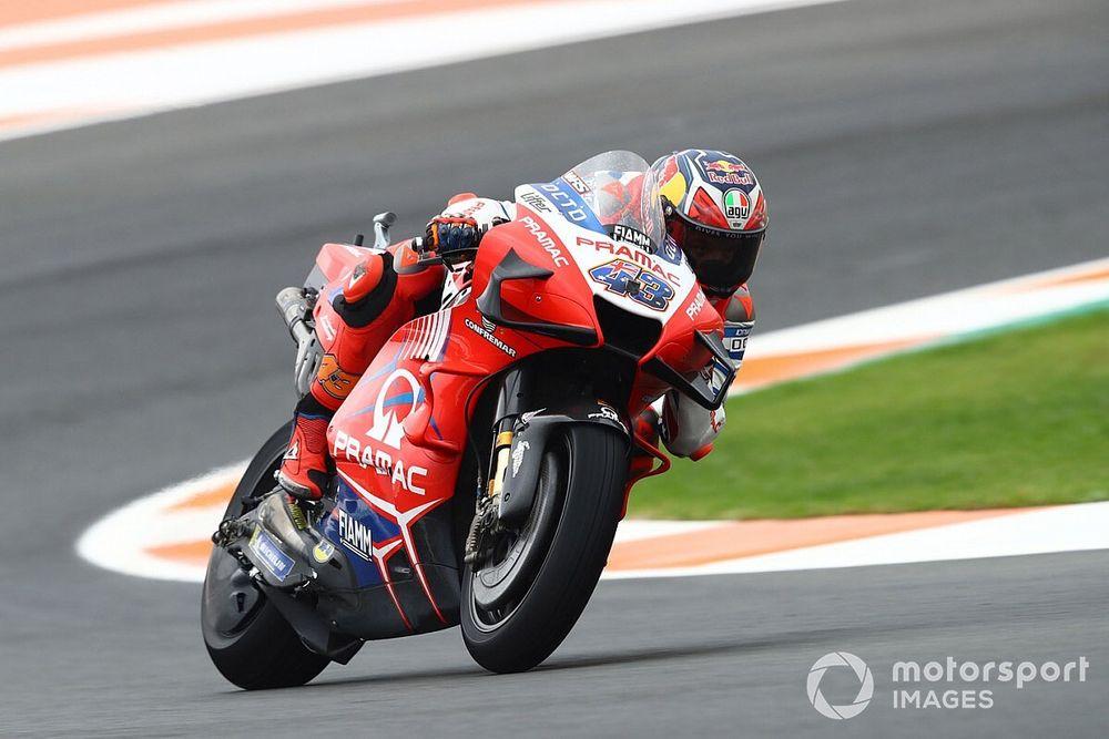 MotoGP Avrupa 2. antrenman: Kuruyan pistte Miller yine lider