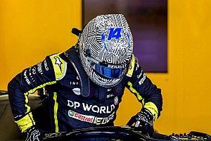 Alonso giró casi 100 vueltas con el Renault RS18