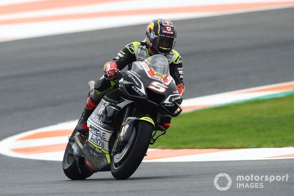 MotoGP, Europa, Libere 3: Zarco svetta sull'umido, Rossi 8°