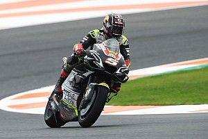 Zarco snelste op nat Valencia, Rossi weer in actie in VT3