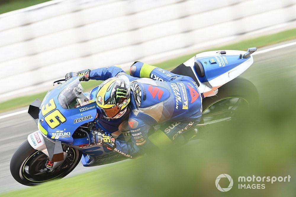 MotoGP, Europa, Warm-Up: Mir detta il ritmo sull'asciutto