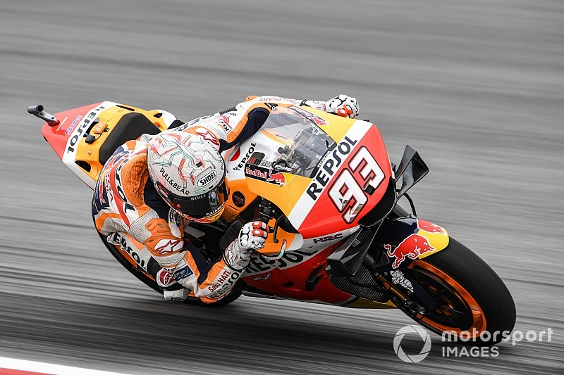 MotoGP FT1 Barcelona: Marquez-Bestzeit, neue Teile bei Lorenzo