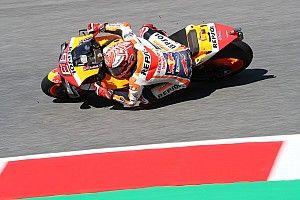 Márquez lidera la primera práctica en Barcelona