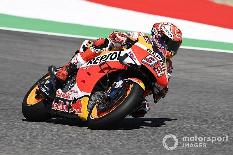 """Marquez """"riding in a strange way"""" due to illness"""