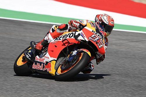 Diminué, Márquez doit pour l'instant se contenter de la sixième place