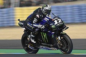 FP2 MotoGP Prancis: Vinales terkencang, Rossi terancam Q1