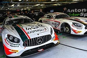 Agostini e Rovera assieme in una Mercedes AMG GT3 di Antonelli a Vallelunga