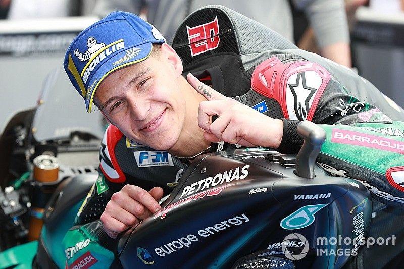 Quartararo logra la pole seguido de Morbidelli en Jerez