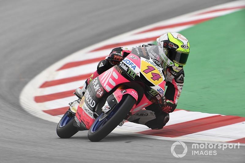 Red Bull Ring Moto3: Üçüncü seansta Arbolino tur rekoruyla lider