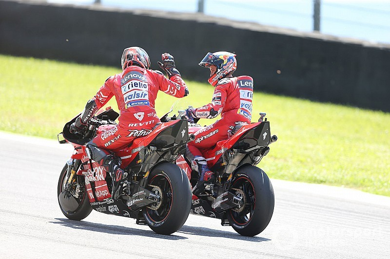 Dovizioso: Petrucci lacked self-belief before 2019