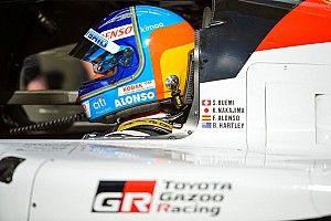 """""""Moins de pression"""" et l'objectif """"de terminer"""" pour Alonso au Mans"""