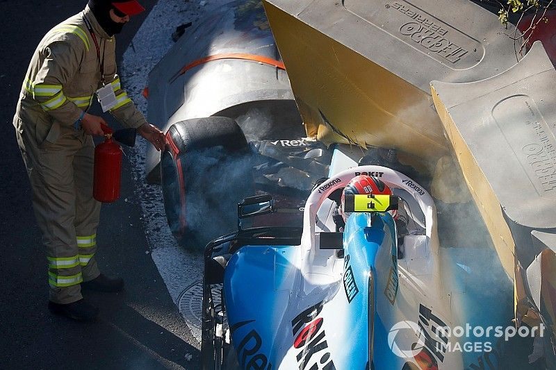 Robert Kubica partirà dalla pitlane nel GP d'Azerbaijan