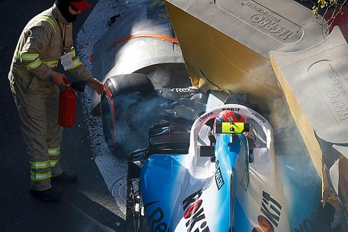 Kubica to start Azerbaijan GP from pitlane