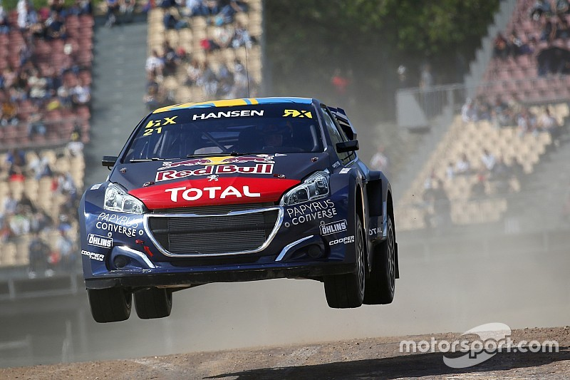 Barcelona World RX: Hansen pulls off dominant win