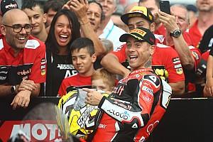 """Bautista: """"Me gustaría seguir en Ducati, no sé si en SBK o MotoGP y no es broma"""""""