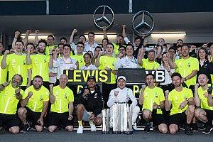 Los siguientes récords que puede romper Mercedes en F1