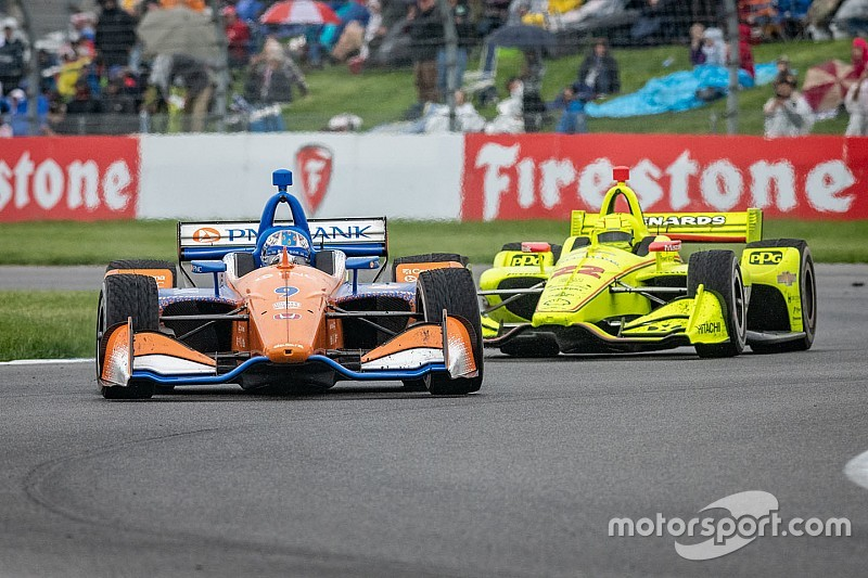 Grip issues hurt Ganassi hopes in IndyCar GP