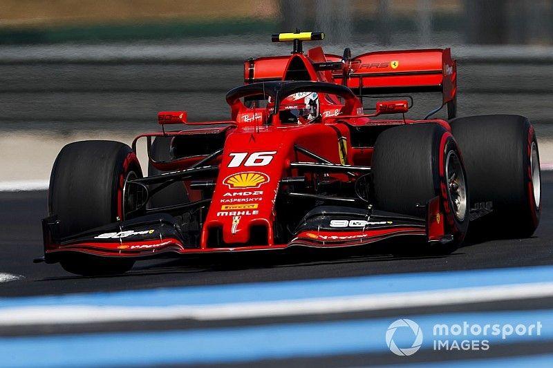Leclerc explica por qué le pidió a Ferrari que presionara a Vettel