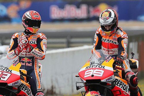 Marquez: Lorenzo harus bertahan dengan Honda