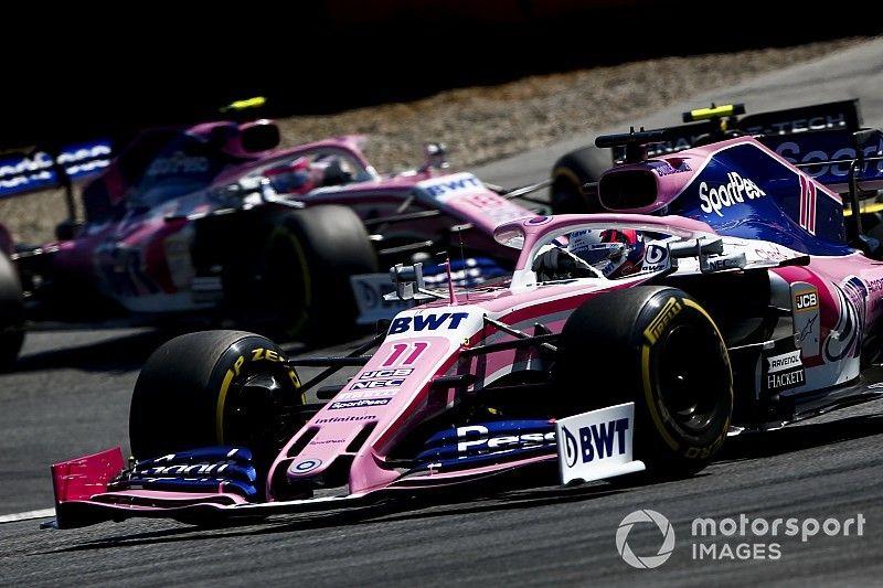 """Pérez: """"Nos quedamos cerca, pero McLaren fue muy fuerte"""""""