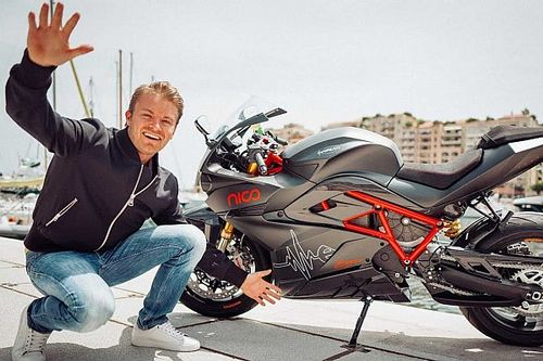 Win F1 Champion Nico Rosberg's Motorcycle And Help Out Charity At The Same Time
