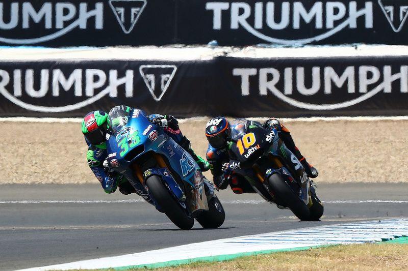 Andalusia Moto2: Bastianini beats Marini for first win
