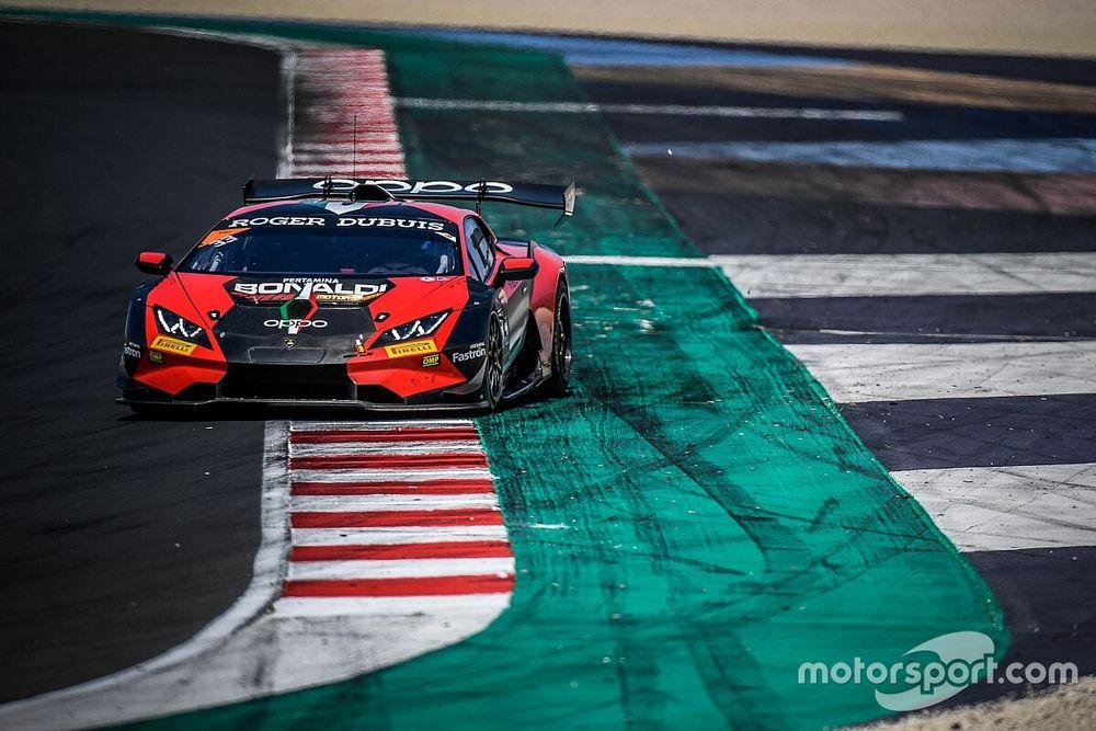 Lamborghini: al Nurburgring Bonaldi con la novità Galbiati