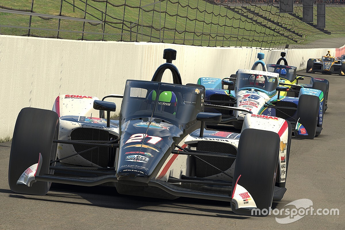 Pagenaud wint online IndyCar-race in Motegi, Van Kalmthout P23