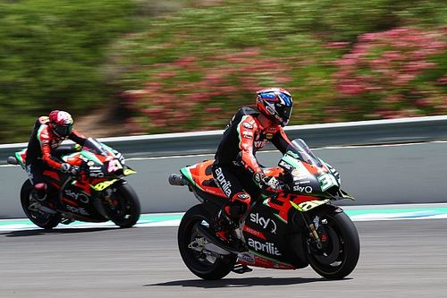 "Aprilia progress masked by getting ""completely lost"""