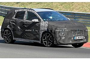 Hyundai Kona N, le foto spia del SUV sportivo