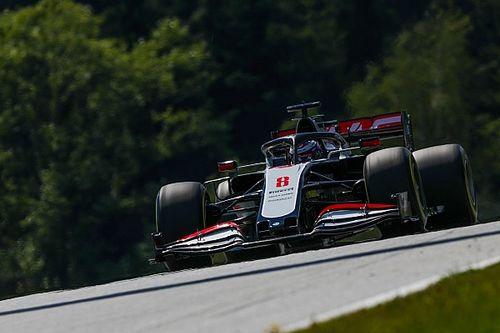 Haas onderzocht voor breken regels parc fermé met auto Grosjean