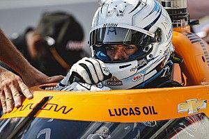 Askew stands in for Rosenqvist for second Detroit IndyCar race