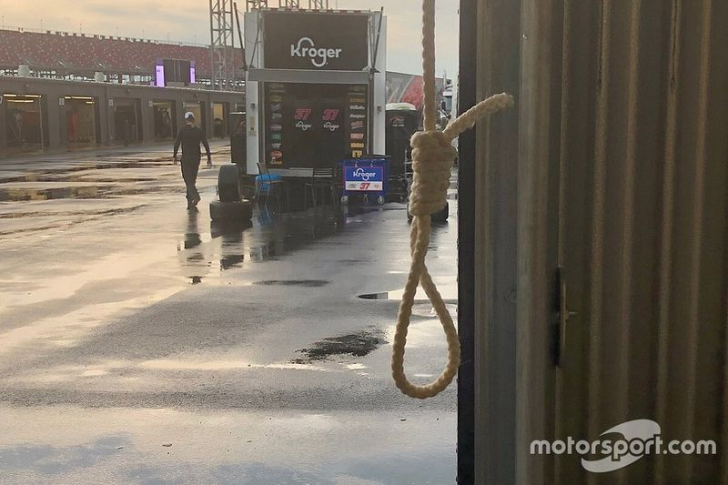 """NASCAR: """"La soga estaba ahí, pero su origen es incierto"""""""