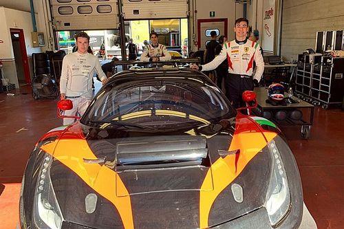 GT Italiano: Matteo Greco con Hudspeth e Michelotto sulla Ferrari