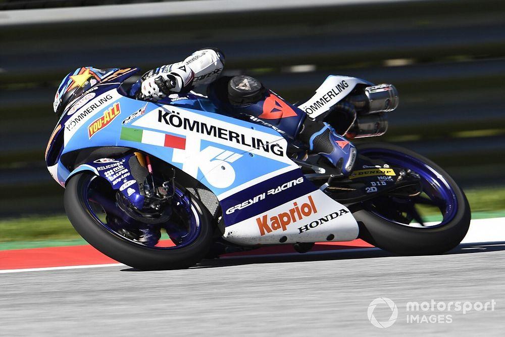 Moto3 - Estiria: pole de Rodrigo en una sesión que tuvo que ser retrasada