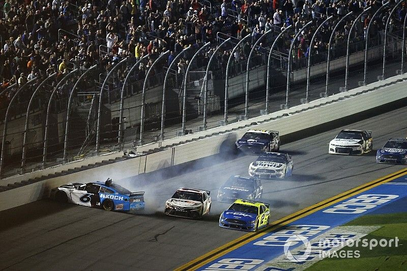 """Blaney on Newman wreck: """"I was trying to push him to the win"""""""