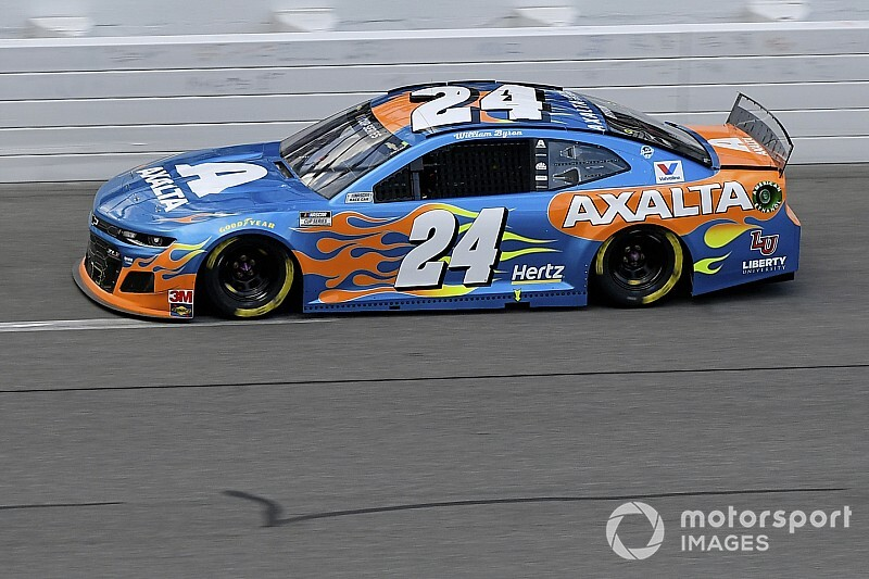 Byron exits 500 early: 'No reason to be that aggressive'