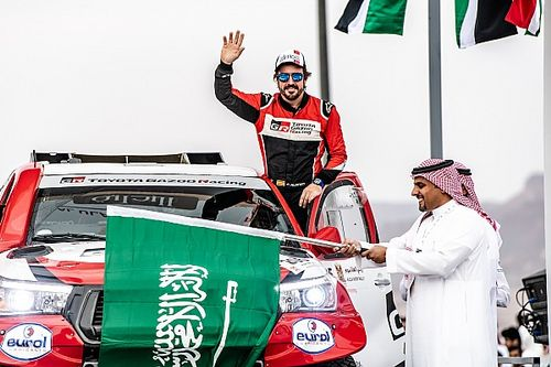 Dakar Rally director tips Alonso to win a stage