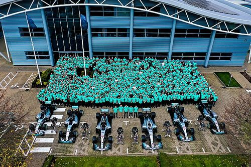 How Mercedes became F1's greatest-ever team