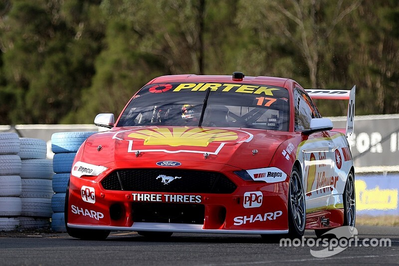 McLaughin tests crash-replacement Mustang ahead of Sandown
