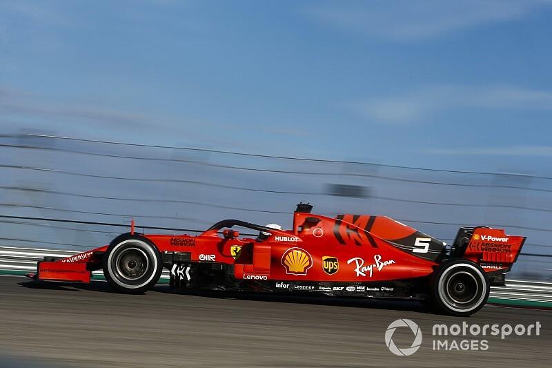 Vettel még nem érzi a leggyorsabbnak a Ferrarit, és csalódott a 2020-as gumikban