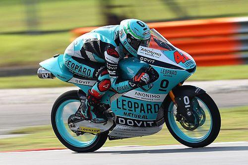 Moto3, Valencia, Libere 1: Ramirez al top, Dalla Porta 3°