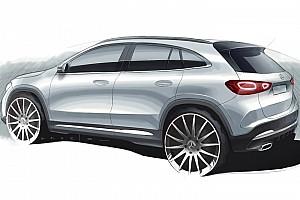 Nuova Mercedes GLA, ecco il bozzetto ufficiale