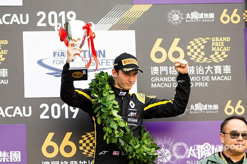 Lundgaard debutta in Formula 2 con la Trident ad Abu Dhabi