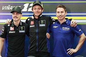 Yamaha presenta la M1 de 2020 con Viñales, Rossi y Lorenzo