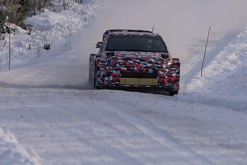 Toyota prueba el GR Yaris para WRC 2021