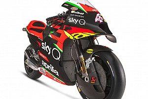 Aprilia показала расцветку для нового сезона MotoGP