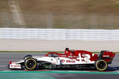 Raikkonen supera Pérez e lidera segundo dia de testes em Barcelona