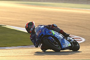 Rins leads Suzuki 1-2 on first day of Qatar testing